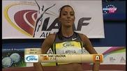 Ивет Лалова спечели спринта на 60 метра в Карлсруе!