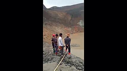 Myanmar: At least 160 dead after landslide at jade mine in Hpakant