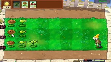 Plants vs zombies Еп 1 - Започваме