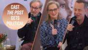 Meryl Streep & Steven Spielberg on feminism and Trump