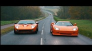 Koenigsegg Ccr vs Ford Gt 720 Mirage