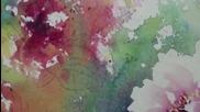 Рисуване на божури и колибри с акварел /от Lian Quan Zhen/