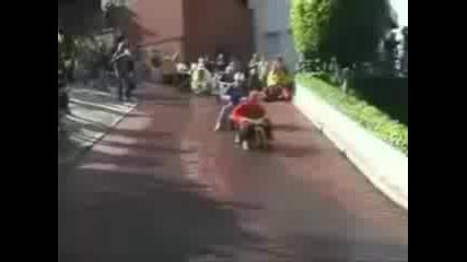 Състезание С Детски Моторчета