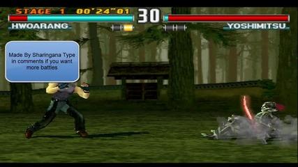[tekken Battles] Whoarang[me] Vs Yoshimitsu