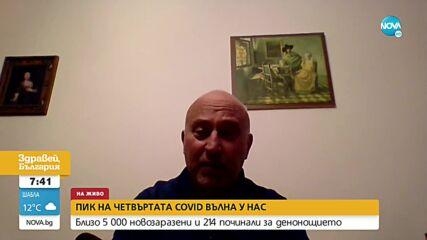 Математик от БАН: COVID случаите ще се вдигнат над 4000 на ден