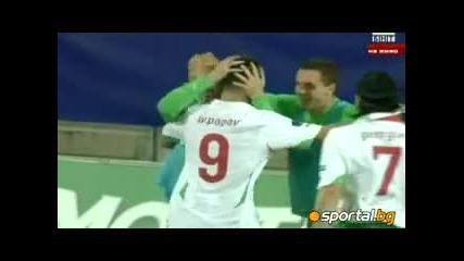 Победа за България ! Гол на Ивелин Попов ! Уелс - България 0:1 !