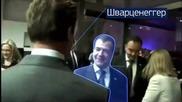 Обама праща Медведев в ада (на руски)
