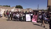 Yemen: Protesting children call for end to conflict outside UN's Sanaa HQ
