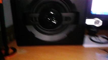Genius Sw-g 1250 2.1 Bass Test