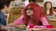 Violetta 3: Рокси отива на обяд с Леон и перуката и пада + Превод