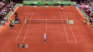 Roland Garros 4r 2011 Federer - Wawrinka Highlights