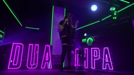 Dua Lipa - Be The One - in the Live Lounge bbc radio1