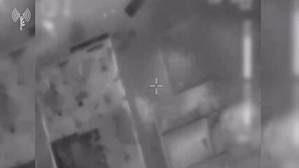 State of Palestine: Aerial footage released by IDF shows Israeli strike in Gaza
