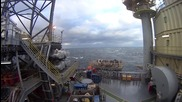Black Sea: Footage shows Russian rig approached by unidentified Turkish ship