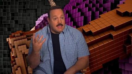 Kevin James Chats About Making 'Pixels'