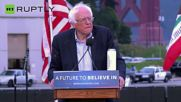 Sanders Rallies Supporters as Decisive California Primary Looms