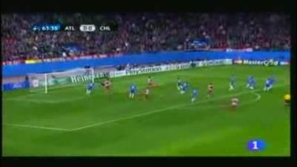 Атлетико Мадрид 2 - 2 Челси