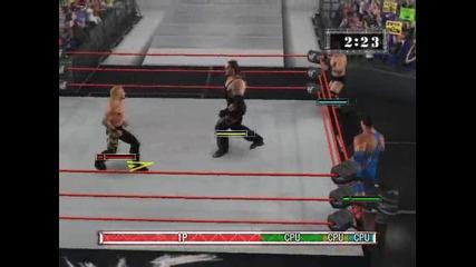 wwe raw 2002 chris jericho & kurt angle vs undertaker & steve austin