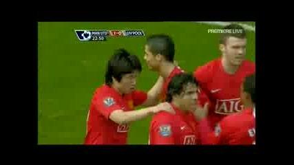 14.03.09 Манчестър Юнайтед 1 - 4 Ливърпул! 3 - те гола