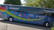 Германия напусна базата си, пое по 500-километров път
