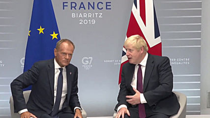 France: Johnson and Tusk 'in completely glutinous agreement on most of issues'