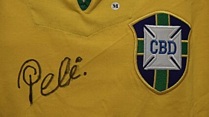 UK: Pele's stunning collection of sports memorabilia set for charity auction in London