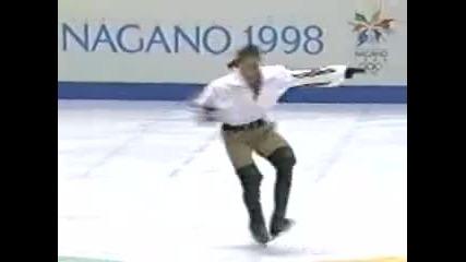 Philippe Candeloro in 1998 Nagano Olympics D Artagnan