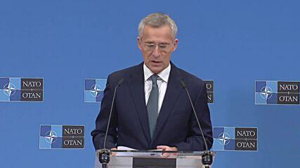 Belgium: 'We will not mirror Russia's destabilising behaviour' - Stoltenberg