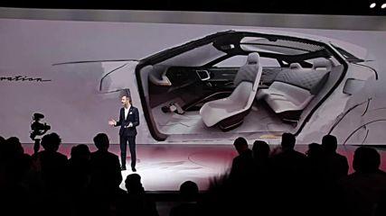 USA: Nissan and Infiniti showcase futuristic all-electric concept cars