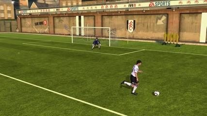 Fifa 11 - funny goal