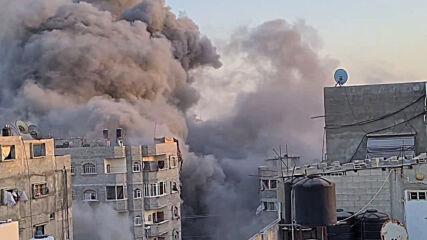State of Palestine: Israeli airstrike hits building in Gaza City