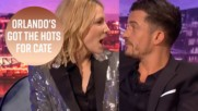 Orlando Bloom had a crush on Cate Blanchett