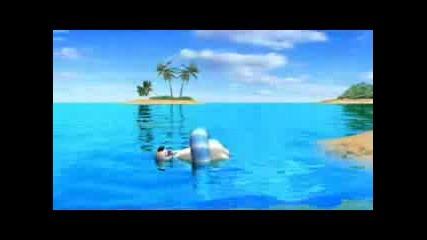 Полярното Мече Backkom На Море [funny Cartoon]