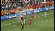 25.06.2010 - Световно Първенство - Северна Корея 0 - 3 Кот д Ивоар гол на Ромарик