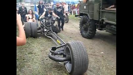 Най-страховития мотор за рокери