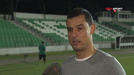 Томаш: Влязохме в руслото на Черно море, не съм доволен