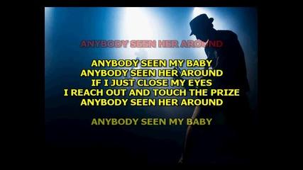 The Rolling Stones - Anybody Seen My Baby (karaoke)