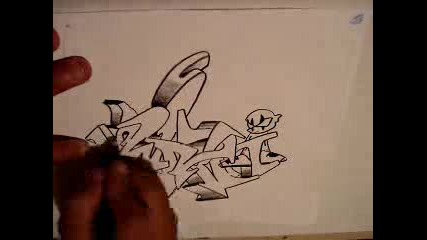 Drawing Graffiti Wildstyle3