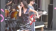 Selena Gomez - A Year Without Rain (new Song) - Live at Six Flags St. Louis 822201