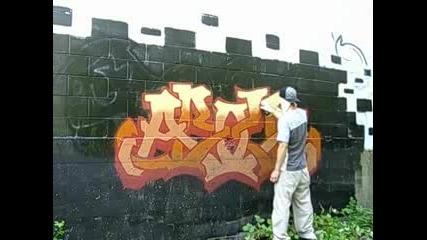 Graffiti Above The Leson