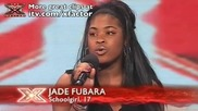изпълнение на 17 годишно момиче The X Factor