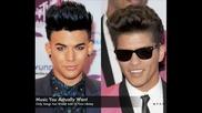 Bruno Mars ft. Adam Lambert - Never Close Our Eyes [ Song ]
