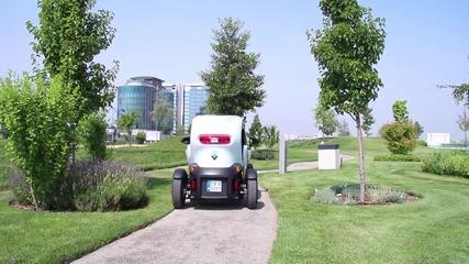Renault Twizy - 2лв на 100км (Test Drive)