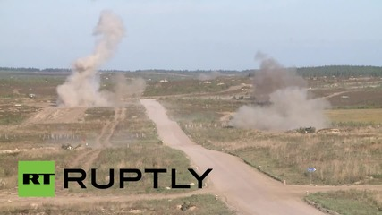 Russia: Sukhoi Su-25 jets take centre stage at Russo-Belarusian drills