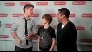 Justin Bieber is Bieber Cash on Radio Disney with Jake and Ernie D