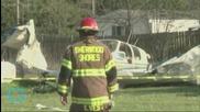 Plane Makes Crash-Landing Along Texas Highway