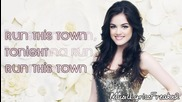 Lucy Hale - Run This Town (high Quality)