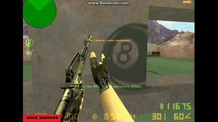 Counter - Strike 1.6 - Jack_krauser - Разцъква с бот на хард