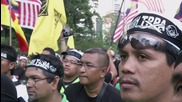Malaysia: Thousands march against TPPA trade deal in KL