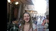 Римска Уличка Около Площад Навона